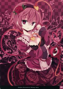 Rating: Safe Score: 45 Tags: cleavage fixme komeiji_satori matsuri_uta touhou User: back07