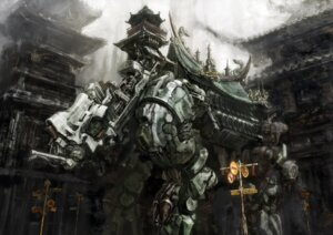 Rating: Safe Score: 29 Tags: kabihuton landscape mecha User: Radioactive