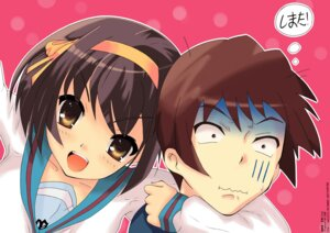 Rating: Safe Score: 3 Tags: kyon seifuku skray suzumiya_haruhi suzumiya_haruhi_no_yuuutsu User: Radioactive