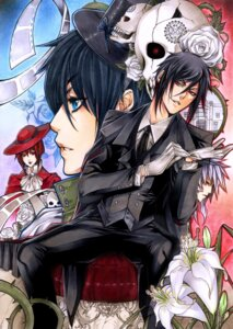 Rating: Safe Score: 9 Tags: ciel_phantomhive devil kuroshitsuji lady_red pluto_(kuroshitsuji) sebastian_michaelis yaichino User: Radioactive