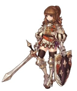 Rating: Safe Score: 22 Tags: armor olivia_(yh) sword thighhighs User: Radioactive