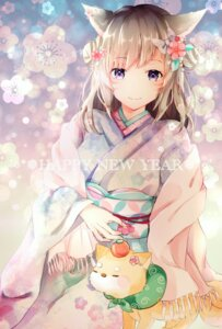 Rating: Safe Score: 50 Tags: animal_ears final_fantasy kimono miqo'te nekomimi tagme User: BattlequeenYume