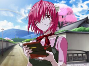 Rating: Safe Score: 28 Tags: animal_ears elfen_lied lucy wallpaper User: Izuna