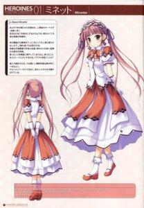 Rating: Safe Score: 8 Tags: dress ko~cha minette shukufuku_no_campanella User: admin2