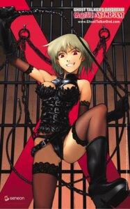 Rating: Questionable Score: 10 Tags: lingerie meguro_sankichi pantsu saiki_misaki teizokurei_daydream thighhighs User: Radioactive