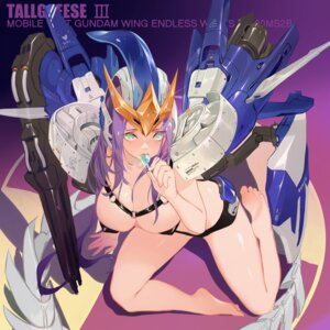 Rating: Questionable Score: 41 Tags: anthropomorphization endless_waltz erect_nipples grandialee gundam mecha_musume pasties tallgeese_iii topless User: Mr_GT