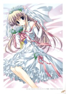 Rating: Safe Score: 19 Tags: dress korie_riko wedding_dress User: fireattack