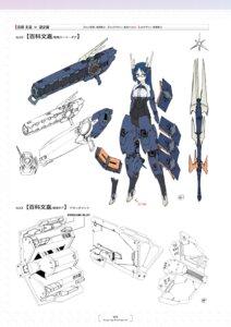 Rating: Questionable Score: 3 Tags: alice_gear_aegis bodysuit character_design momoshina_fumika weapon yanase_takayuki User: Radioactive