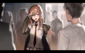 Rating: Safe Score: 70 Tags: makise_kurisu okabe_rintarou steins;gate twh User: sylver650