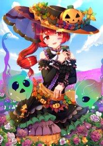 Rating: Safe Score: 13 Tags: dress ekusera halloween shironeko_project tattoo User: Mr_GT