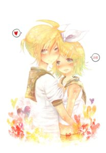 Rating: Safe Score: 9 Tags: kagamine_len kagamine_rin masha vocaloid User: Radioactive