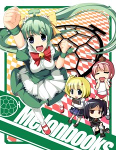 Rating: Safe Score: 2 Tags: black_lemon-chan chibi fujy lemon-chan maron-chan melonbooks melon-chan User: blooregardo