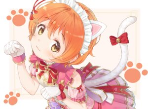 Rating: Safe Score: 13 Tags: animal_ears dress eichisu hoshizora_rin love_live! nekomimi tail User: BattlequeenYume