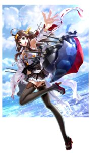 Rating: Safe Score: 25 Tags: heels kantai_collection kongou_(kancolle) mashima_misuzu sarashi thighhighs User: Mr_GT