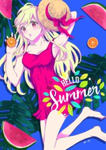 Rating: Safe Score: 24 Tags: cleavage dress shiraishi_urara summer_dress yamada-kun_to_7-nin_no_majo yoshikawa_miki User: saemonnokami
