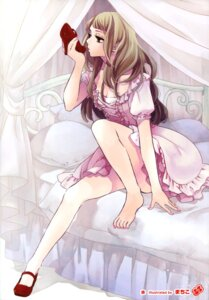Rating: Safe Score: 31 Tags: cleavage dress feet heels lolita_fashion machiko User: Twinsenzw