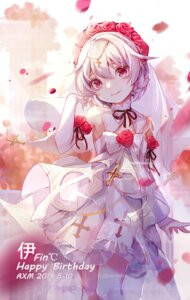 Rating: Safe Score: 22 Tags: ai_xiao_meng benghuai_xueyuan dress honkai_impact see_through wedding_dress User: Mr_GT