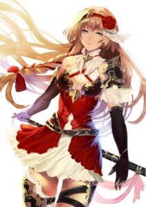Rating: Safe Score: 28 Tags: armor garter sakupannda06o sword thighhighs User: Mr_GT
