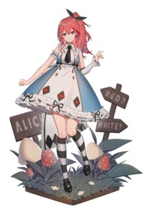 Rating: Safe Score: 15 Tags: alice_in_wonderland all_that_they_see_or_seem_is_a_dream_within_a_dream cosplay xtears_kitsune User: Mr_GT