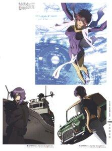Rating: Safe Score: 7 Tags: bodysuit ghost_in_the_shell gun nishio_tetsuya User: Radioactive