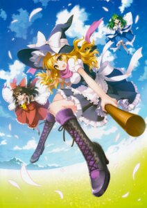 Rating: Safe Score: 66 Tags: an2a fixed hakurei_reimu kirisame_marisa kochiya_sanae touhou wind_mail User: DDD