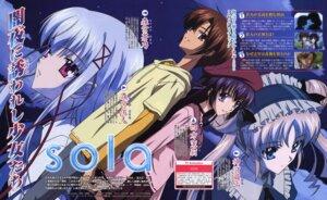 Rating: Safe Score: 3 Tags: kamikawa_mayuko morimiya_aono morimiya_yorito shihou_matsuri sola User: vita