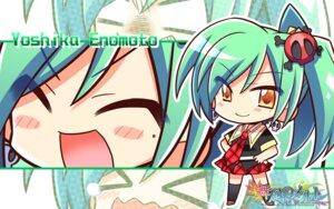 Rating: Safe Score: 12 Tags: chibi enomoto_yoshika komowata_haruka maikaze_no_melt seifuku wallpaper User: Harpuia