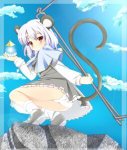 Rating: Questionable Score: 31 Tags: animal_ears nazrin noumin pantsu tail touhou User: SciFi