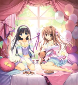 Rating: Safe Score: 100 Tags: aomi_maika ass feet karory neko pajama tsukiishi_koyuki User: Twinsenzw