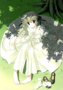 Rating: Safe Score: 47 Tags: dress feet kasugano_sora nanao_naru yosuga_no_sora User: crim