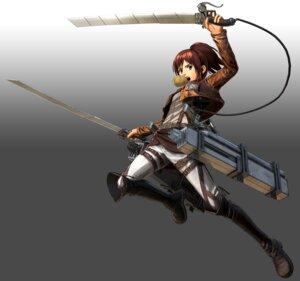 Rating: Safe Score: 6 Tags: cg shingeki_no_kyojin sword uniform User: NotRadioactiveHonest