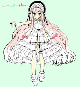 Rating: Questionable Score: 29 Tags: dress heterochromia lolita_fashion open_shirt pantsu sakiyo_cake User: KazukiNanako