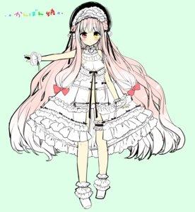 Rating: Questionable Score: 30 Tags: dress heterochromia lolita_fashion open_shirt pantsu sakiyo_cake User: KazukiNanako