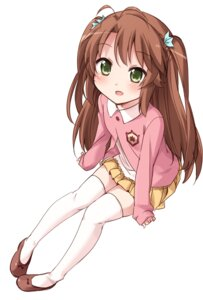 Rating: Safe Score: 51 Tags: koshigaya_komari moso non_non_biyori thighhighs User: Radioactive