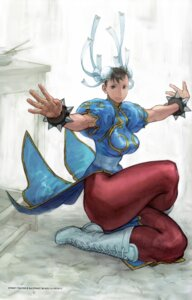 Rating: Safe Score: 11 Tags: capcom chinadress chun_li dress pantyhose street_fighter street_fighter_iii tagme yasuda_akira User: majoria