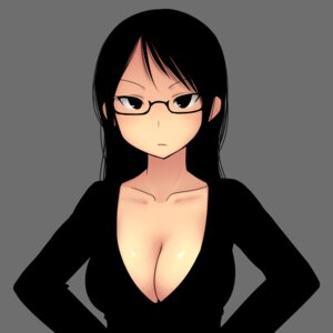 Rating: Safe Score: 30 Tags: cleavage megane rakugakio User: blooregardo