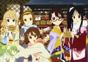 Rating: Safe Score: 38 Tags: akiyama_mio hirasawa_yui kimono k-on! kotobuki_tsumugi manabe_nodoka megane sakamoto_kazuya tainaka_ritsu User: Jigsy