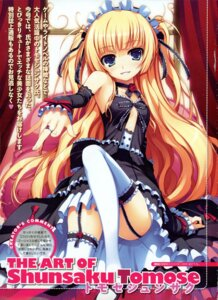Rating: Safe Score: 80 Tags: garter_belt lolita_fashion no_bra stockings thighhighs tomose_shunsaku User: Aurelia