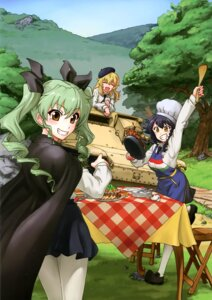 Rating: Safe Score: 22 Tags: anchovy carpaccio girls_und_panzer pantyhose pepperoni uniform User: drop