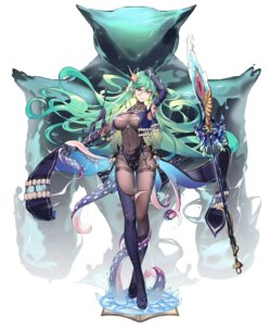 Rating: Safe Score: 37 Tags: 5555_96 ark_order bodysuit elf pointy_ears tentacles thighhighs weapon User: Dreista