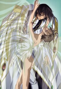 Rating: Questionable Score: 17 Tags: code_geass lelouch_lamperouge male naked rollo_lamperouge sakou_yukie yaoi User: admin2