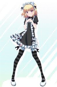 Rating: Safe Score: 61 Tags: iijima_yun maid makicha new_game! thighhighs User: saemonnokami