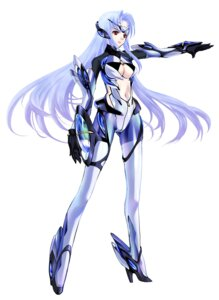 Rating: Safe Score: 31 Tags: bodysuit choco cleavage kos-mos xenosaga User: Nocturnal
