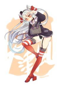 Rating: Questionable Score: 28 Tags: amatsukaze_(kancolle) kantai_collection mkiiiiii pantsu stockings thighhighs User: ryoryu