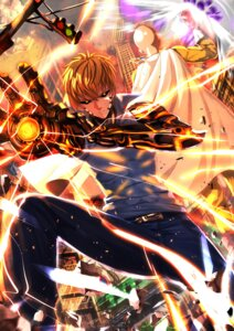 Rating: Safe Score: 25 Tags: genos one_punch_man saitama swordsouls User: Mr_GT