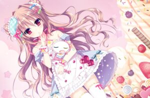Rating: Safe Score: 104 Tags: dress neko shiwasu_horio thighhighs User: 糖果部部长