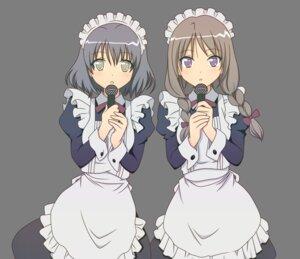 Rating: Safe Score: 33 Tags: maid mayoi_neko_overrun satou_(mayoi_neko_overrun) suzuki_(mayoi_neko_overrun) transparent_png vector_trace User: ryuzaki