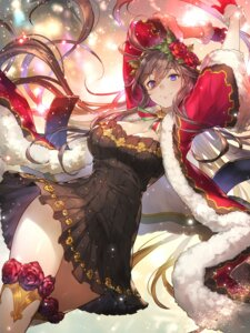 Rating: Safe Score: 85 Tags: cleavage dress granblue_fantasy kakage rosetta_(granblue_fantasy) thighhighs User: Mr_GT