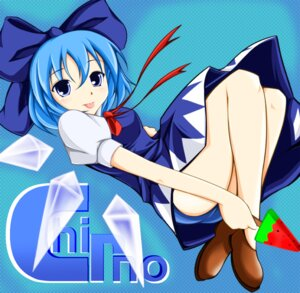 Rating: Safe Score: 2 Tags: cirno fulea pantsu touhou wings User: cirnon
