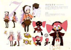 Rating: Safe Score: 16 Tags: character_design charlotte_(puella_magi_madoka_magica) momoe_nagisa puella_magi_madoka_magica User: Anonymous